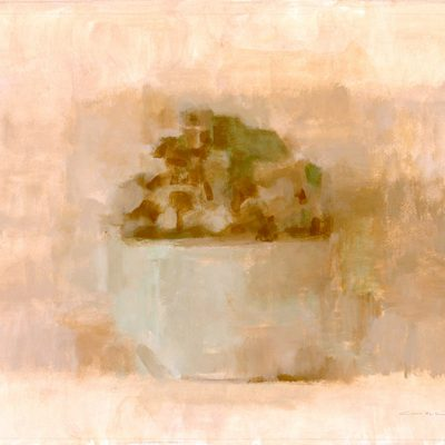 Mortero, 2002. Témpera, 40 x 60 cm