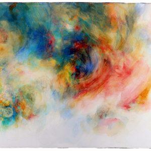 Remolino, 2011. Acuarela y grafito sobre papel, 56 x 76 cm