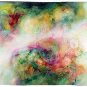Viento verde, 2011. Acuarela y grafito sobre papel, 56 x 76 cm