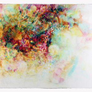 Cúmulo, 2011. Acuarela y grafito sobre papel, 56 x 76 cm