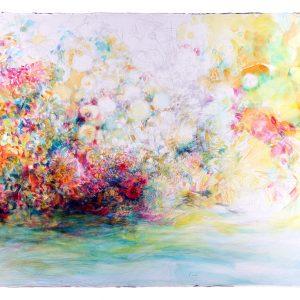 La costa, 2011. Acuarela y grafito sobre papel, 56 x 76 cm