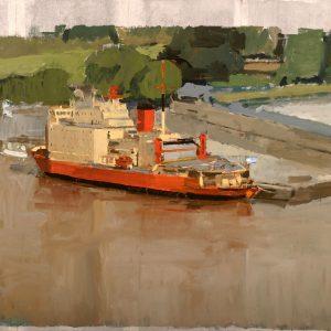 Irízar II, 2004. Témpera, 119 x 102 cm