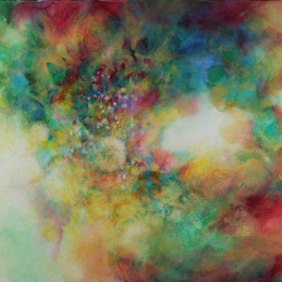 Luz de tormenta, 2011. Acuarela y grafito sobre papel, 56  x 76 cm