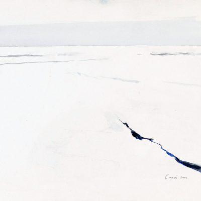12-1-2006, Día 10, 2006. Acuarela, 25 x 35 cm