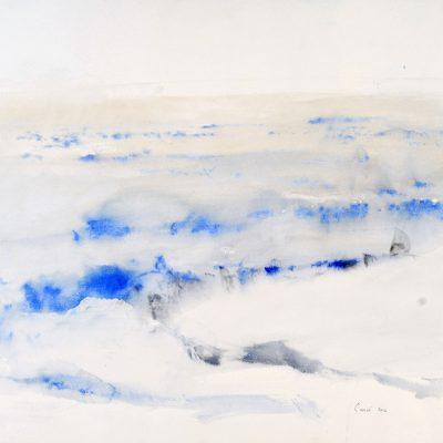 """23.1.2006, Día 21"""", Acuarela, 2006. 56 x 76 cm"""