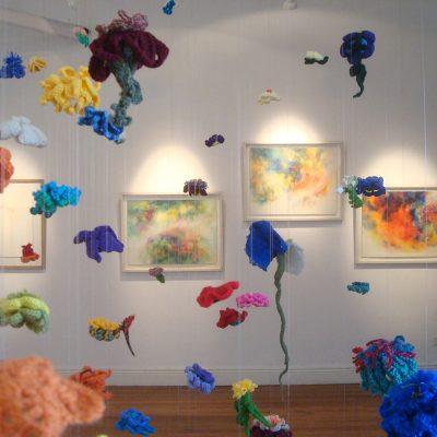 Florescencia, Mapa Espacio de Arte, Ciudad de Las Flores, 2014