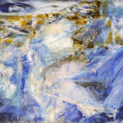 Temblor, 2008. Acuarela, 70 x 100 cm