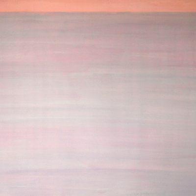 Rosa II, 2010. Acuarela y temple de cera, 70 x 100 cm
