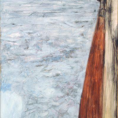 Naturalezas, 2008. Acuarela y temple de cera, 150 x 100 cm