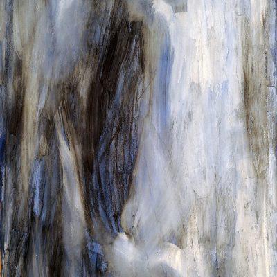 Bloque 14, 2008. Acuarela y temple de cera, 100 x 70 cm