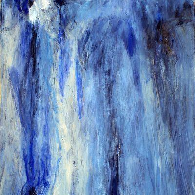 Bloque 12, 2008. Acuarela y temple de cera, 100 x 70 cm