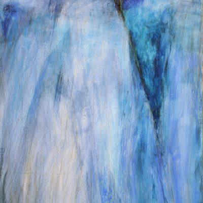 Bloque 9, 2008. Acuarela y temple de cera, 100 x 70 cm