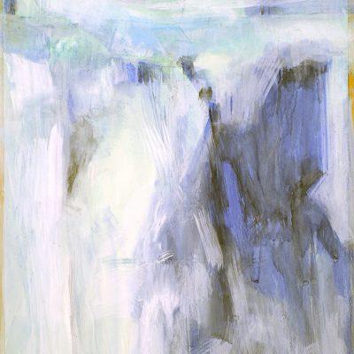 Bloque 8, 2009. Acuarela y temple de cera, 100 x 70 cm