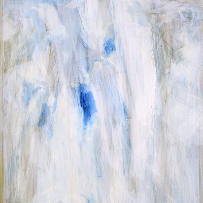 Bloque 5, 2008. Acuarela y temple de cera,100 x 70 cm