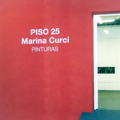 Piso 25, Taller Guillermo Roux - Galería del fondo, 2004
