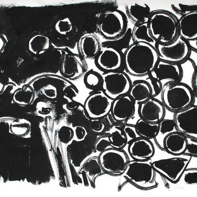 Semillas tinta 7, 2006. Tinta, 42 x 56 cm