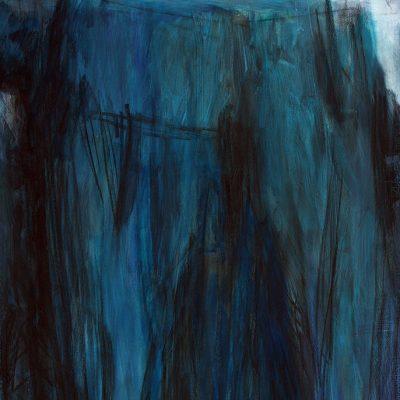 Bloque 16, 2009. Acuarela y temple de cera, 70 x 100 cm